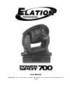 Elation Power Spot 700