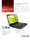 ViewSonic VNB141 Specification 2 pages