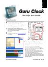 Abit GURU CLOCK Operation & User's Manual 60 pages