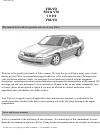 Volvo V70 Owner's manual