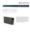 Williams Sound SoundPlus Infrared Transmitter WIR TX90