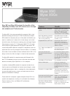 Wyse X90 Specifications 2 pages