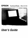 Epson 4SLC2-50 Operation & User's Manual 154 pages