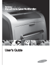Samsung SCX-5315F Operation & User's Manual 98 pages