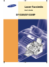 Samsung SF-5100P Operation & User's Manual 101 pages