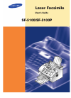 Samsung SF-5100P Operation & User's Manual 103 pages