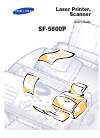 Samsung SF-5800P Operation & User's Manual 42 pages