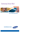 Samsung SVM-400E Quick Reference Manual 6 pages