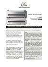 Teac G-03X Brochure 2 pages