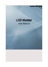 Samsung 460UT Operation & user's manual