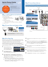 Samsung ATIV Smart PC Pro 5 Quick Setup Manual 2 pages