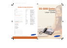 Samsung DS-5000 Operation & User's Manual 91 pages