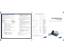 Samsung DS-5000 Quick Reference Manual 8 pages