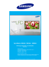 Samsung ME40A Specifications 2 pages