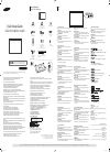 Samsung UD55A Quick Setup Manual 2 pages