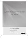 Samsung DA-E570 Operation & User's Manual 22 pages