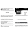 Timex 75329T Operation & User's Manual 4 pages