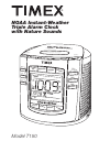 Timex T150 Operation & User's Manual 12 pages
