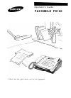 Samsung FX100 Operator's Manual 76 pages