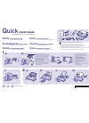 Samsung SF-340 Quick Install Manual 2 pages