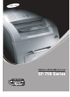 Samsung SF-750 Operation & User's Manual 98 pages