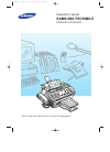 Samsung SF4000 Operator's Manual 125 pages