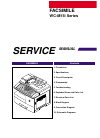 Samsung WC-M15i Series Service Manual 138 pages