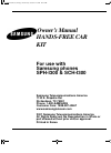 Samsung SPH-I300SS Owner's Manual 22 pages
