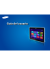 Samsung ATIV Smart PC Pro XE500T1C Guía Del Usuario 137 pages