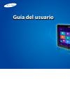 Samsung ATIV Smart PC Pro XE700T1C Guía Del Usuario 164 pages
