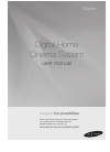 Samsung HT-X710 Operation & User's Manual 59 pages