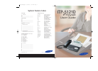 Samsung ITP-5121D Operation & User's Manual 94 pages