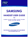 Samsung ITP-5121D Operation & User's Manual 20 pages