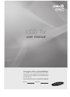 Samsung 650 Series Operation & User's Manual 137 pages