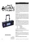 American DJ Fusion FX Bar 4