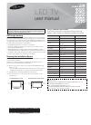 Samsung Series 4000 Operation & user's manual