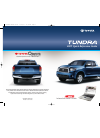 Toyota Tundra  guide