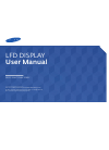 Samsung ED32C Operation & User's Manual 148 pages