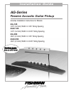 Fishman AG-125 - Installation Manual 16 pages
