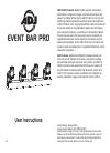 American DJ EVENT BAR PRO