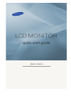 Samsung P63FP Quick Start Manual 25 pages