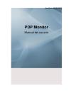 Samsung P63FP Manual Del Usuario 123 pages