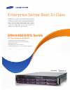 Samsung SRN-64SEN-R Brochure & Specs 2 pages
