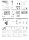 Samsung WMN-1000B Quick Setup Manual 6 pages