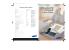 Samsung ITP-5107S Operation & User's Manual 86 pages