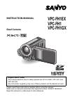 Sanyo Xacti VPC-FH1