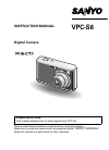Sanyo VPC-S6