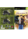 GAMES MICROSOFT XBOX SHENMUE II Manual 16 pages