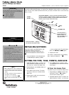 Radio Shack 02A02 Owner's Manual 4 pages