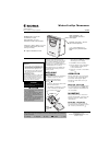 Radio Shack 63-1037 Owner's Manual 2 pages